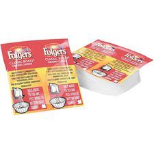 Folgers Regular Coffee Packs, 46 Pkg/Ctn
