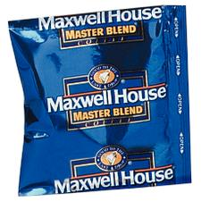 Maxwell House Coffee Premeasured Packs, 42/Ctn