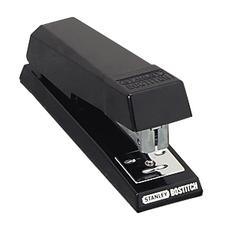 Stanley Bostitch Anti-Jam Desktop Stapler, Uses Standard Staples, Black