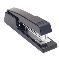 Deluxe Full-Strip Stapler, Uses Standard Staples, Black