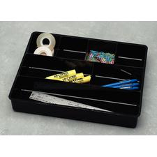 "Drawer Director, Black, 15"" W x 2-3/8"" H x 12"" D"