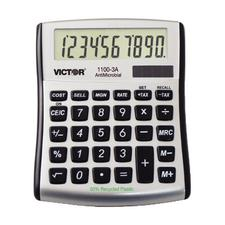 Victor Technology 8-Digit Mini Desktop Display Calculator with PC Touch Keyboard