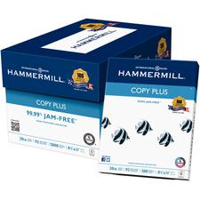 Hammermill Copy Plus Copy Paper, 20 lb, White