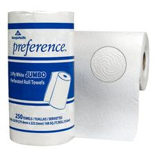 Preference Perforated Roll Towels – 12/Carton, 250 Sheets/Roll