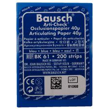 Bausch Arti-Check® Articulating Paper – Pre-Cut Strips in Plastic Dispenser, 200 Strips