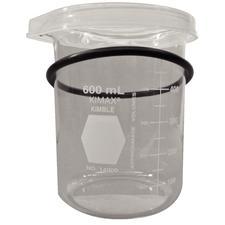 Bécher en borosilicate ultrasonique BioSonic®, 600 ml
