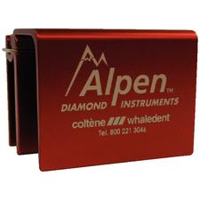 Alpen™ Autoclavable Bur Blocks – FG, Red