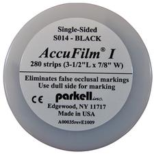 Accufilm® I Single-Sided, Super Thin Articulating Film – Precut Strips, 280/Pkg