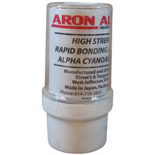 Aron Alpha® Adhesive – White, Fast Set, 5/Pkg