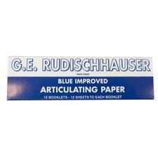 G. E. Rudischhauser Articulating Paper – Blue, 12/Pkg