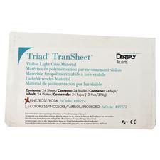Triad® Transheet™ VLC Material – Translucent Premixed Sheet Material, 24 Sheets/Pkg