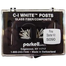 C-I™ White Glass Fiber Posts Starter Kits