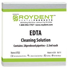Cleansing Solution A – 17% EDTA Solution, 2.5 ml Predosed Pipettes, 28/Pkg