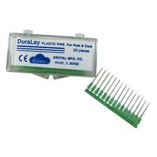 DuraLay Plastic Pins, 50/Pkg