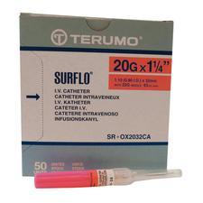 SURFLO® ETFE I.V. Catheters – Teflon, 50/Box