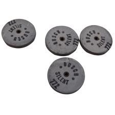 Silent Stones Unmounted Wheels, 12/Pkg