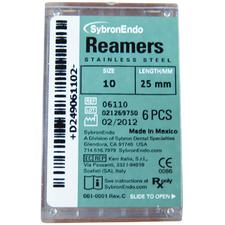 Reamers – Plastic Handle, Standard Color Coded 08-40, 25 mm, 6/Pkg