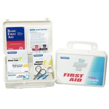 PhysiciansCare® First Aid Kit, 131 pieces for up to 25 people