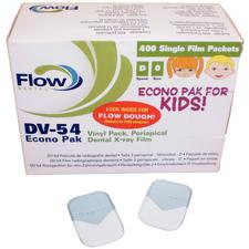 Flow Silver D™ D Speed Intraoral X-ray Film, DV-54 (Size 0 Child)
