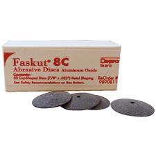 Faskut® Aluminum Oxide Cup Disc #8C – Grayish-Brown, 50/Pkg