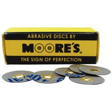 Paper Brass Center Abrasive Discs – Microfine, 50/Pkg