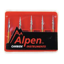 Alpen® Carbide Trimming & Finishing Burs, FG