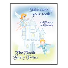 "The Tooth Fairy Twins Coloring Book, 8-1/2"" W x 11"" H, 25/Pkg"