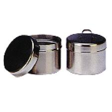 Vollrath Ointment Jar with Strap Handle Cover and Lid – 1/4 Quart