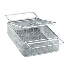 E373 Mesh Basket with Lid