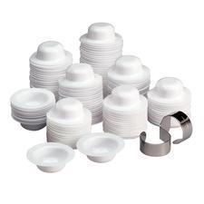 Dapaway® Disposable Dappen Dishes Finger Ring Holder