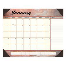 """Marbled Calendar Desk Pads, 22"""" x 17"""""""