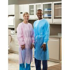 Patterson® Cover Gowns, 10/Pkg