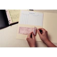 Message Slip Filler Sheets,4 Slips/Sheet; 50 Sheets/Set, Carbonless sets with top copy adhering to patients chart