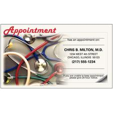 Sticker Appointment Card, 500/Pkg