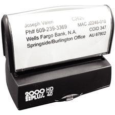 Pre-Inked, Endorsement Stamp