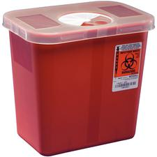 SharpStar™ Transportable Sharps Container – Red, 8 Quart