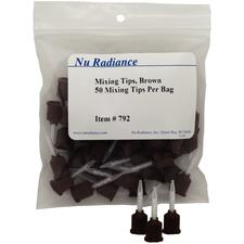 Nu TempCement NE Mixing Tips – Brown, 25/Pkg