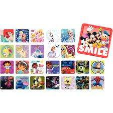 Licensed Sticker Assortment Packs