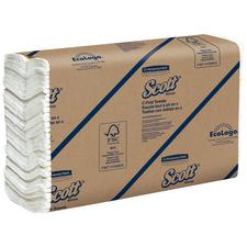 """Scott® C-Fold Paper Towels – White, 10.125"""" x 13.15"""", 200 Sheets/Pkg, 12 Pkg/Case"""