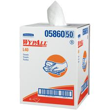 """WypAll® Dry-up Towels – White, 19.5"""" x 42"""", 200 Sheets/Pkg"""
