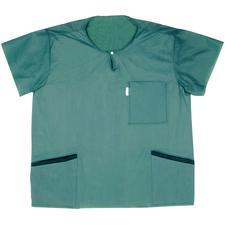 Scrub-Shirts – Green, 48/Pkg