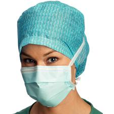 BARRIER® Surgical Masks – ASTM Level 1, Tie On, Latex Free, Blue, 60/Box