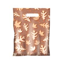 "Scatter Print Autumn Supply Bags, 7-1/2"" W x 10"" H, 100/Pkg"