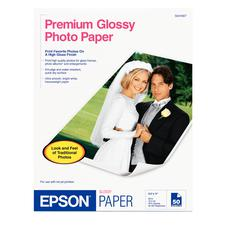 Epson Photo Paper, White Gloss, 10.4 ml