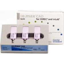 IPS e.max® CAD-on Technique for inLab® HT Blocks – Refills, Size B40, 3/Pkg