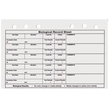 Carnets de tenue des registres du plateau de vapeur – Recharges de carnet, 25/emballage