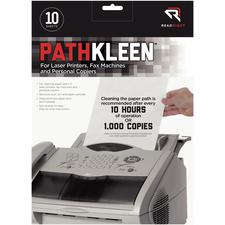 Pathkleen Paper Path Cleaning Sheets, 10/Pkg