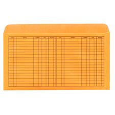 Pocket-Style and Passbook-Style File Envelopes