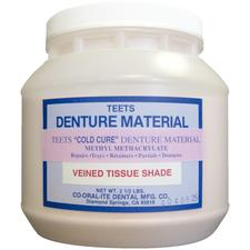 Teets Denture Material – Cold Cure, Powder and Liquid