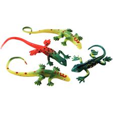 "Stretch Lizards, Assorted Colors, 1-3/4""-2-1/8"" W x 4-1/2""-6"" H, 48/Pkg"